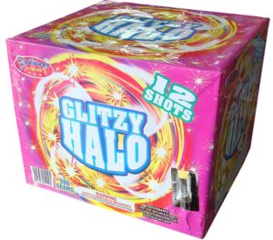 glitzy halo